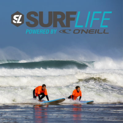 Surflife + afbeelding logo